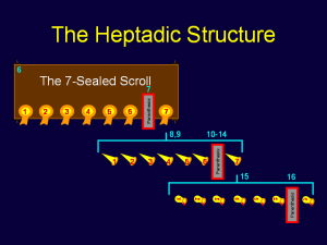 Heptadic Structure