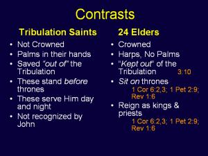 Tribulation Saints vs. 24 Elders